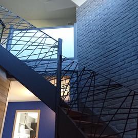 Modification d'une cage d'escalier (après travaux)