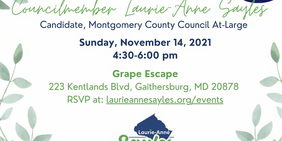 November Meet and Greet with Councilmember Laurie-Anne Sayles