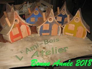 Les Vœux de L'Ami Bois ... et invitation à l'assemblée générale ...
