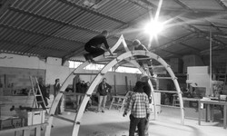 Stage charpente courbe