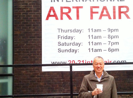 Participated in the 20/21 International Art Fair 2012