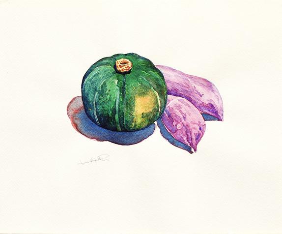 Pumpkin & Sweet Potatoes