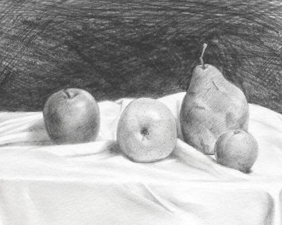 Fruits on a Table - detail