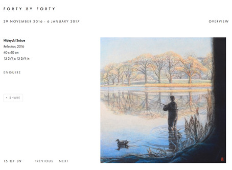FORTY BY FORTY at GX Gallery