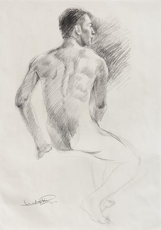 Male Nude (Study) #06