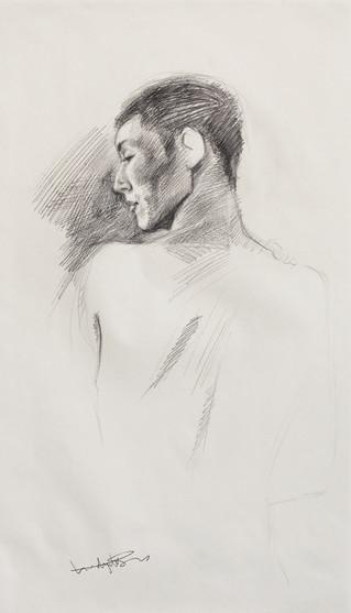 Male Nude (Study) #01