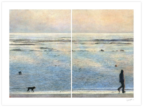 Hazy Shade of Winter (Diptych)