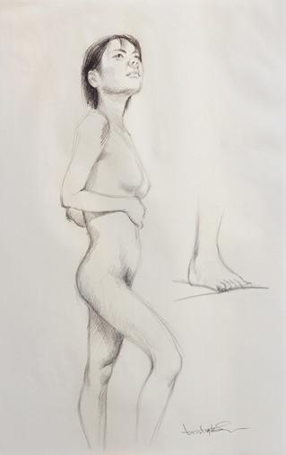 Female Nude (Study) #02