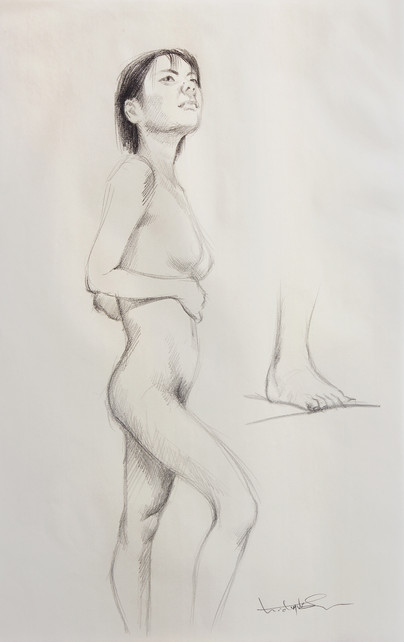 Female Nude (Study) #02