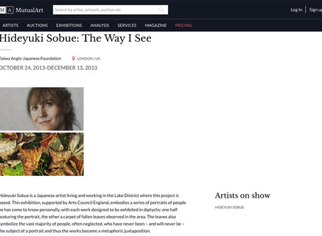 """My art project """"The Way I See"""" featured in the MutualArt"""