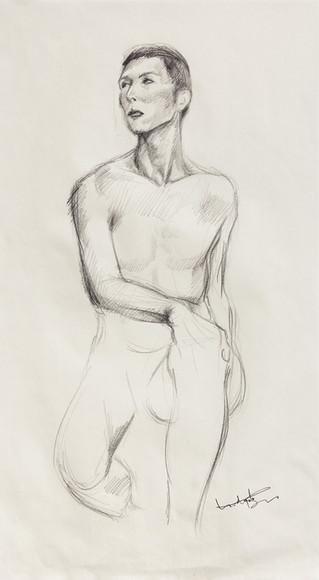 Male Nude (Study) #02