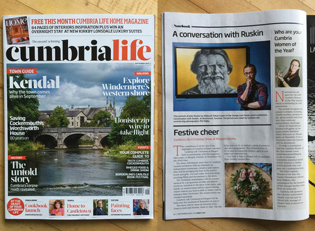 """Conversation with Ruskin"" appeared in Cumbria Life"