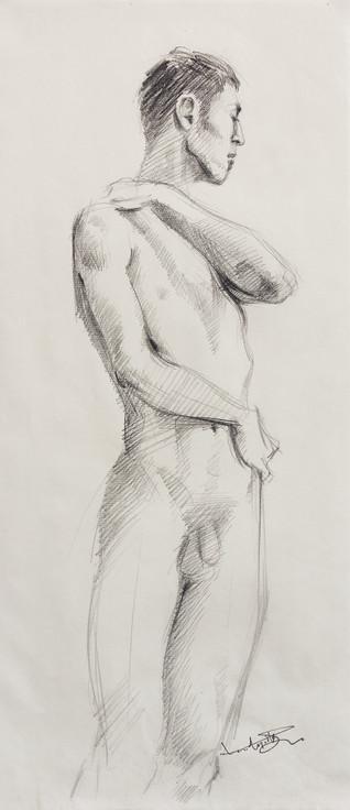 Male Nude (Study) #04
