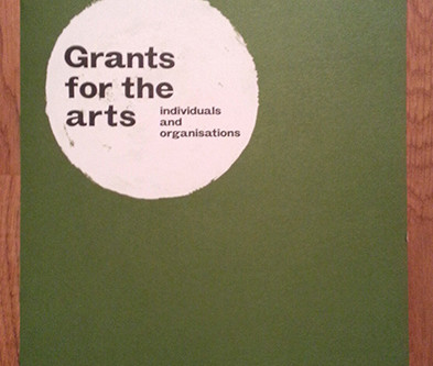 Received Arts Council England grant confirmation
