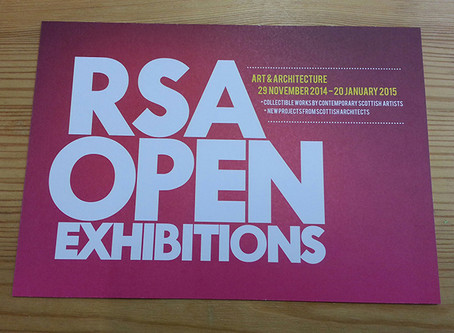 Selected for the Royal Scottish Academy Open