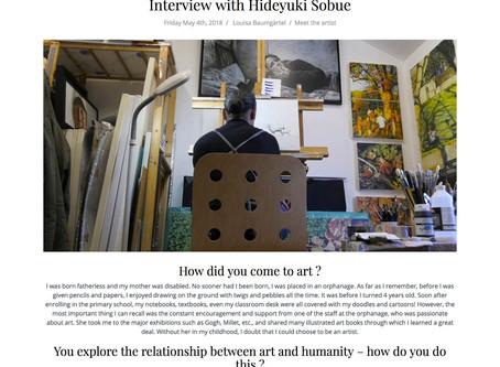 My art practice featured in the Singulart Magazine