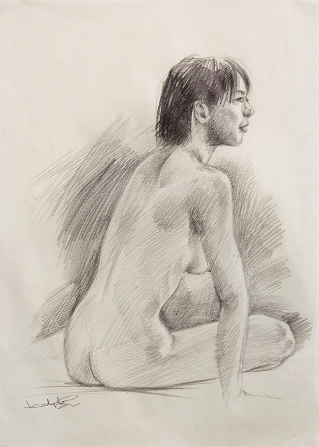 Female Nude (Study) #04