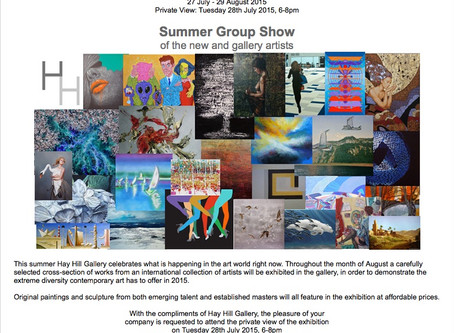 Summer Group Show at Hay Hill Gallery, London