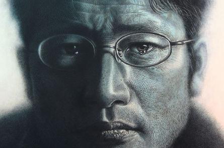 Almost Blue (Self-Portrait) detail 01.jp