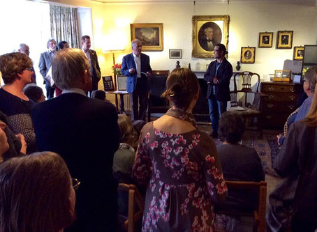 Opening event held at Rydal Mount
