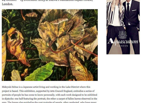 """My art project """"The Way I See"""" featured in the Wall Street International"""