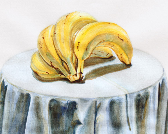 Bananas - detail
