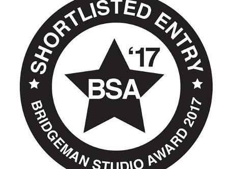 Shortlisted for Bridgeman Studio Award 2017