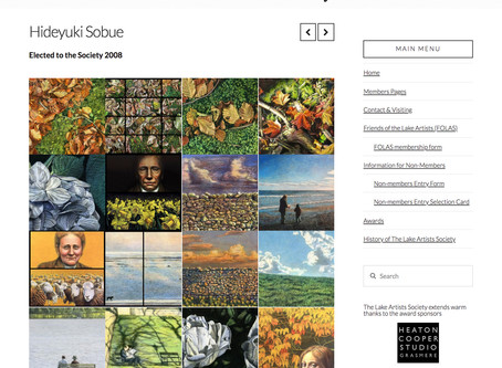 The Lake Artists Society new website launched