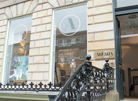 Exhibiting at Arusha Gallery, Edinburgh