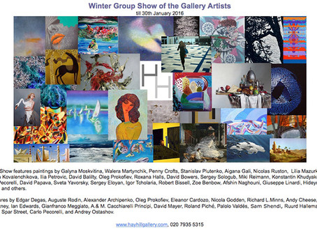 Winter Group Show at Hay Hill Gallery