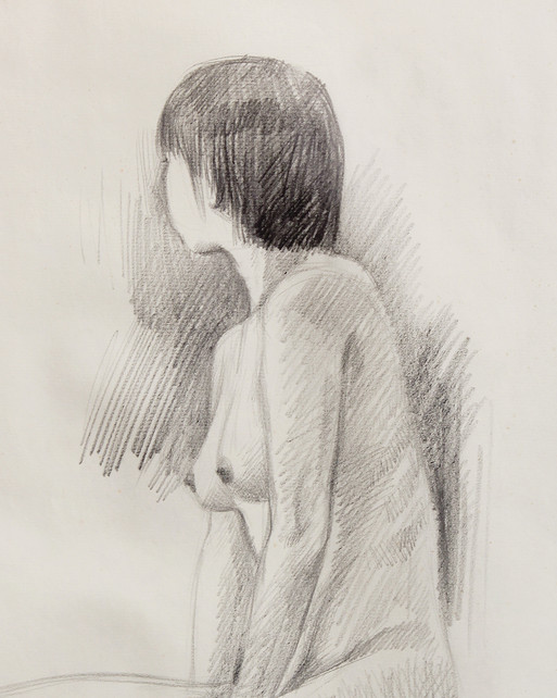 Female Nude (Study) #05 - detail