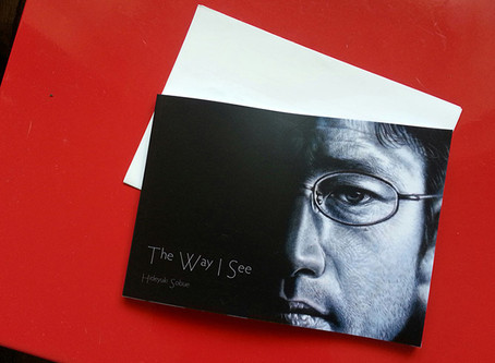 "Exhibition catalogue ""The Way I See"" arrived"