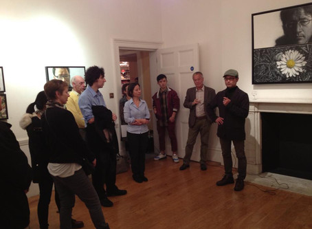 Gallery talk at the Preview for 'The Way I See'
