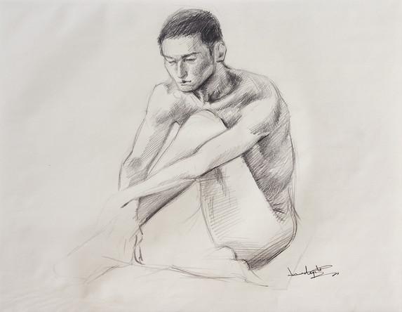 Male Nude (Study) #03