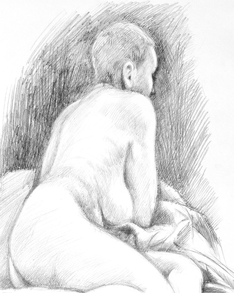 Reclining Nude - detail