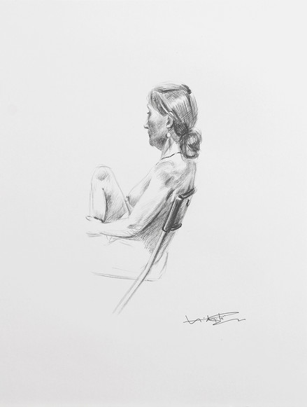 Nude in a Chair