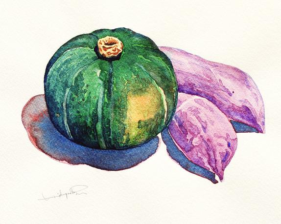 Pumpkin & Sweet Potatoes - detail