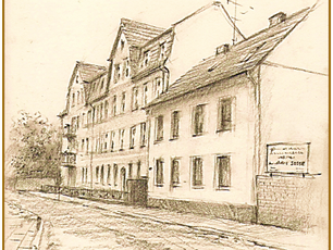 Alte Straße ...