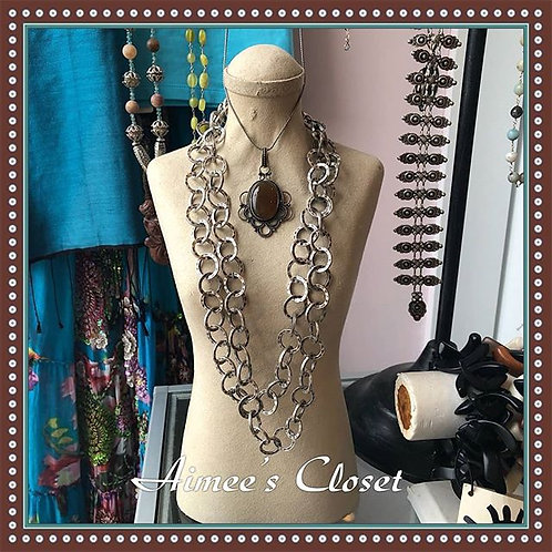 Double Strand Turkish Link Necklace