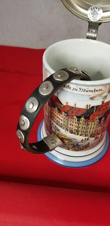 Round Grommet  Men's Bracelet