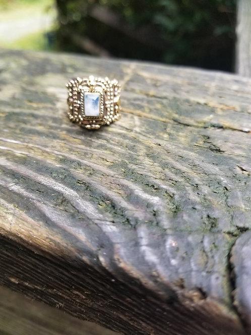 Brass Poison Ring