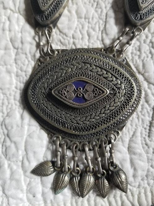 Turkoman Wirework Indian Necklace