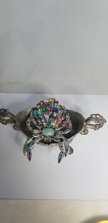 Playful Giant Sparkling Insect Pin