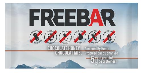 FREEBARS 3 Pack Sample - Chocolate Honey
