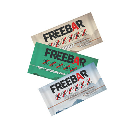 FREEBARS 3 Pack Sample - All Flavours
