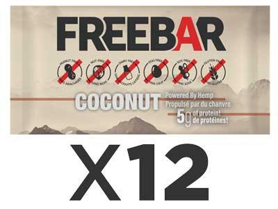 FREEBARS 12 Pack - Coconut