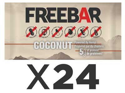 FREEBARS 24 Pack - Coconut
