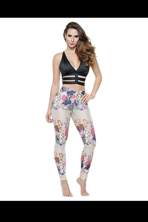 Leggings with butt lifter