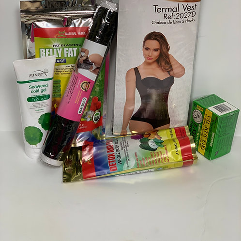 Latex vest Weight loss package