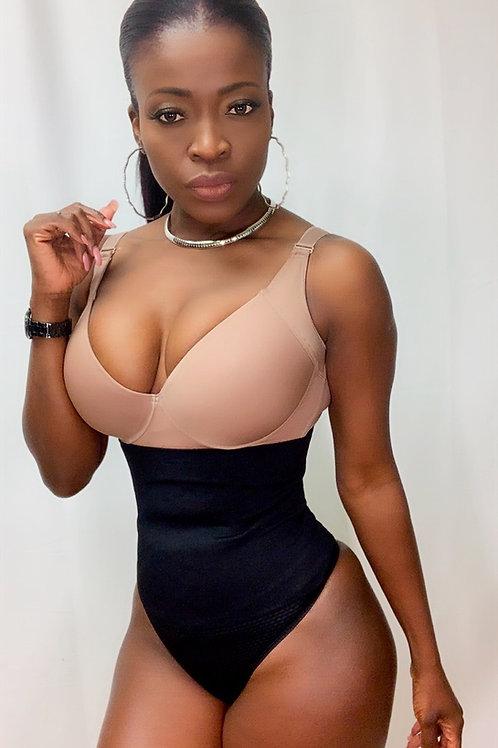 High waist thong